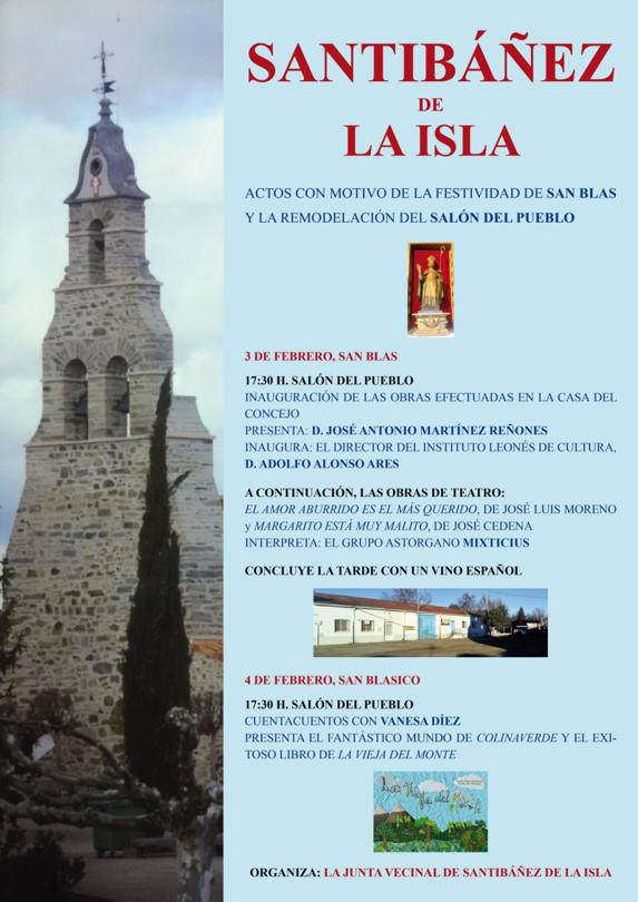 Inauguración Casa del Concejo de Santibáñez de la Isla