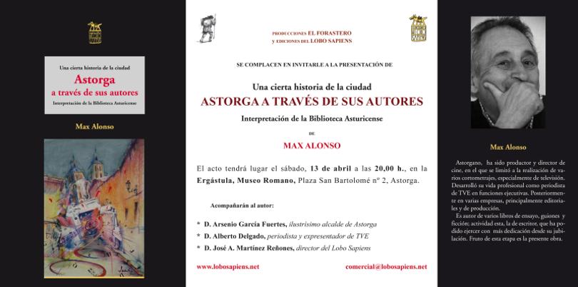 Presentación de ASTORGA A TRAVÉS DE SUS AUTORES