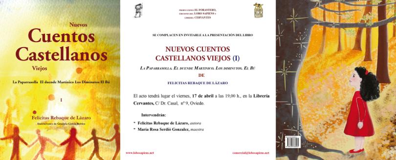 Presentación en Oviedo del libro Nuevos cuentos castellanos viejos (I)