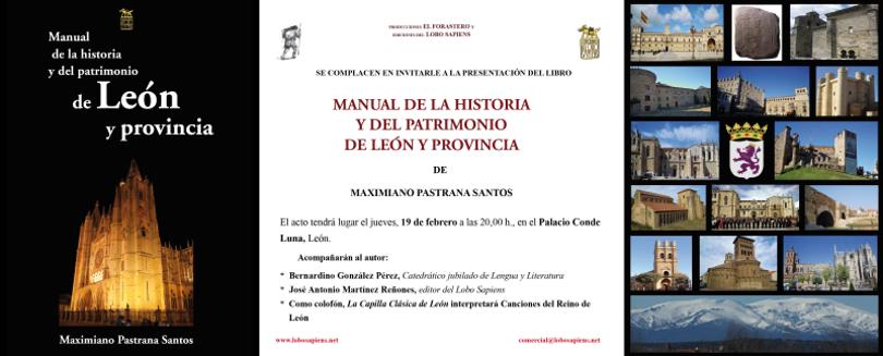 Presentación de Manual de la historia y del patrimonio de León y provincia