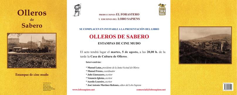 Presentación del libro Olleros de Sabero. Estampas de cine mudo
