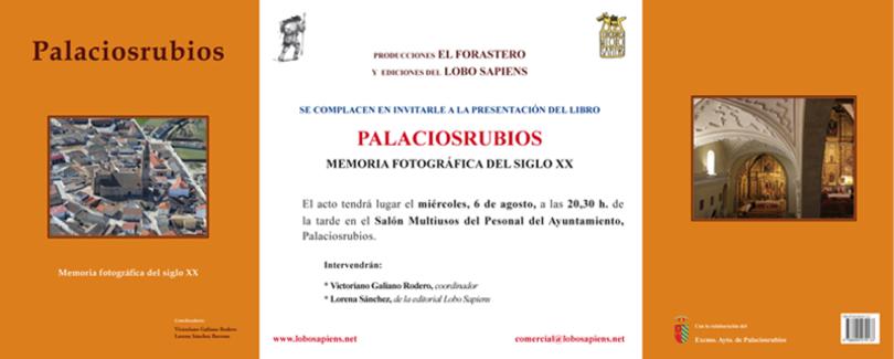 Presentación del libro Palaciosrubios. Memoria fotográfica del siglo XX
